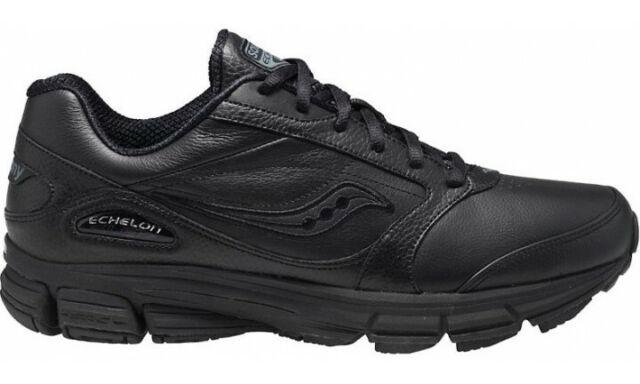 c942af91 Saucony S25174-2 Echelon LE2 Wide Black Mens Walking Running Trainers Shoes  Size