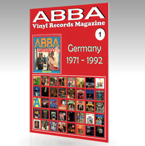 ABBA-Vinyl-Records-Magazine-No-1-Germany-1971-1992-Full-Color-Guide