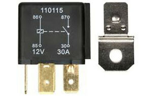 4PIN-12V-30-AMP-CHANGEOVER-RELAY-30A-CAR-VAN-MOTORBIKE-HORN-RY1