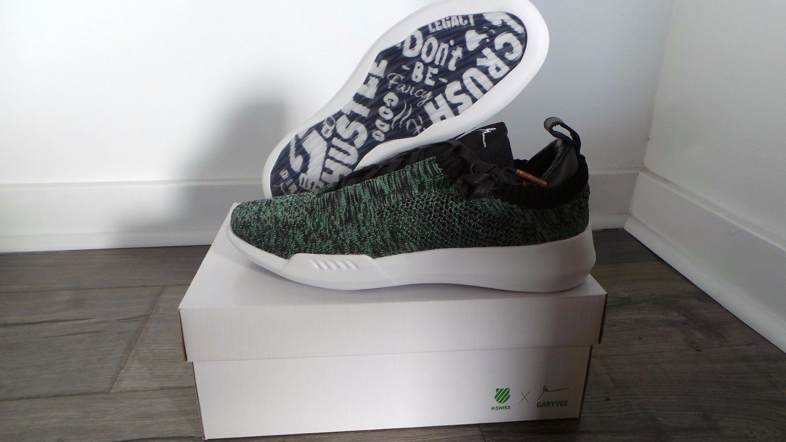 K-Swiss GEN-K Icon KNIT Gary Vee Colorway 001 Size 8 Ready to ship! [1 variation