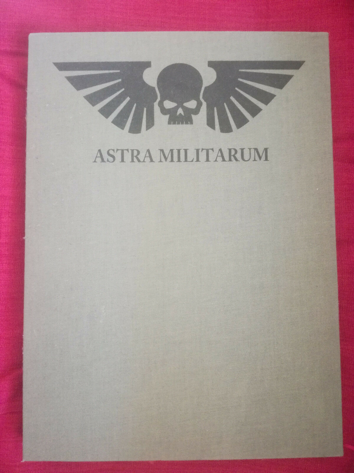 Astra Militarum Imperial Guard LIMITED EDITION codex for warhammer 40k 6th 7tth
