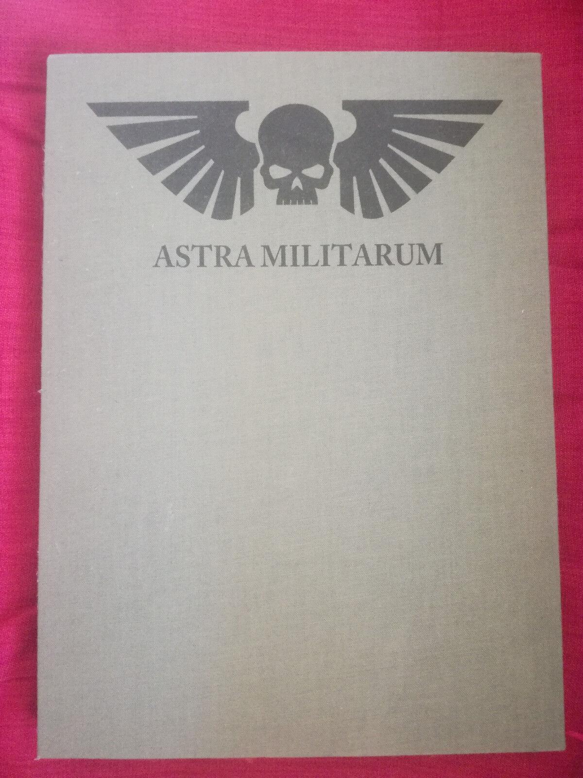 Astra militarum Imperial guard Edición Limitada Codex para Warhammer 40k 6th 7tth