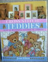 Pattern Book Counted Cross Stitch Baby Nursery Teddy Bear Alphabet Stocking
