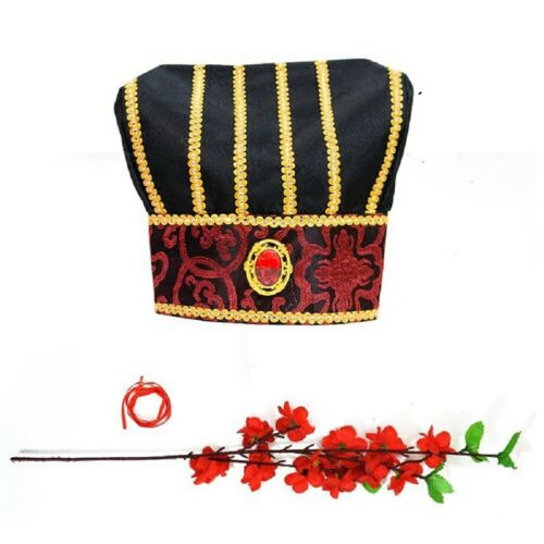Hat Accessory for Chinese Oriental Creative Chinese cap High Quality Suit