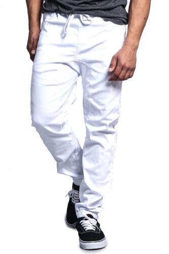 FREE SHIP Victorious Men/'s Jogger Drop Crotch Twill Pants JG804