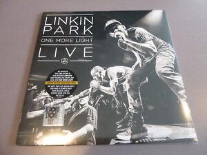 Linkin-Park-One-More-Light-Live-2LP-ltd-gold-black-Vinyl-NEU-amp-OVP-RSD