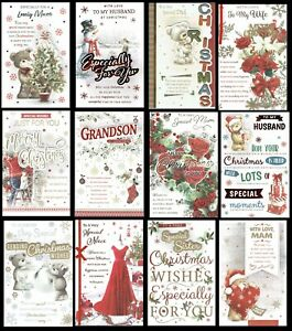 EX-LARGE QUALITY CHRISTMAS CARDS With 8 Page Insert and Fabulous Verses L@@K