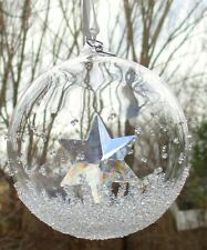 SWAROVSKI CHRISTMAS 2014 Annual Ball Ornament Star Mint and NEW IN BOX