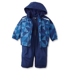 d663df1297a9 Toughskins Infant Boy s Winter Coat   Snow Pants - Geometric 24 ...