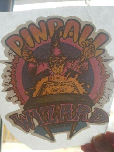 Vintage 1970/'s PINBALL WIZARD Iron On TRANSFER Tee Shirt Iron On Transfer
