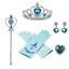 Frozen 2 Princess Elsa Costume Cosplay Fancy Dress Ice Snow Queen Kids Outfit