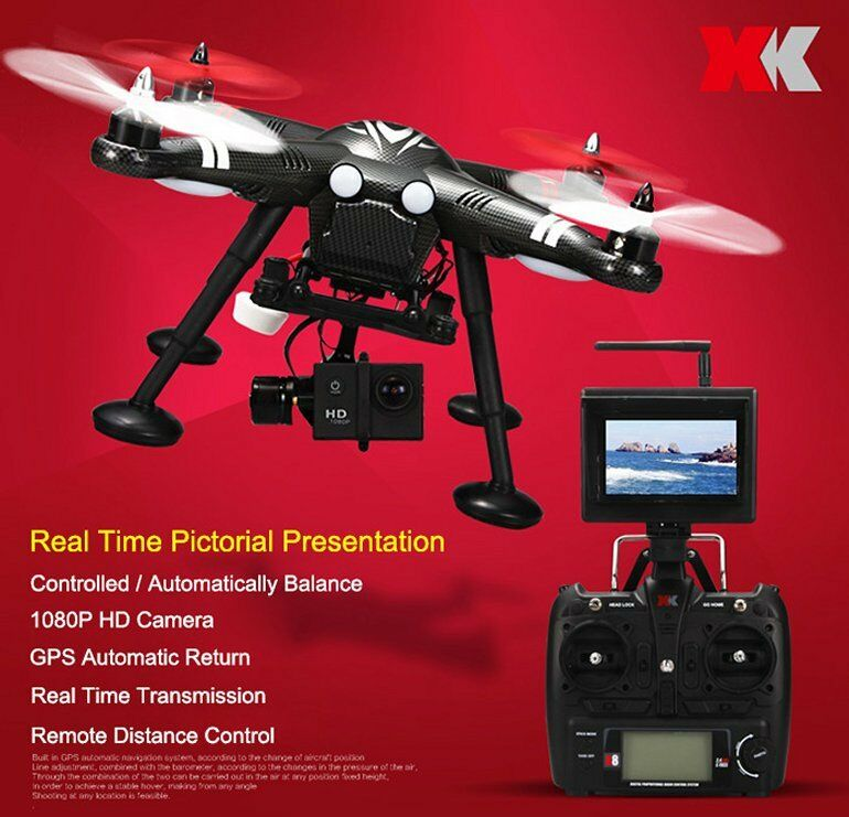 XK Detect X380 GPS Headless 2.4G RC Quadcopter STANDARD Version RTF 30
