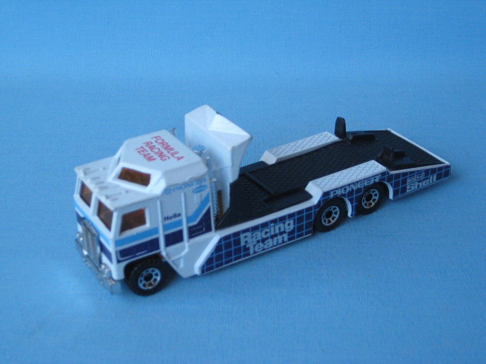 Matchbox Convoy Kenworth Transporter Pioneer Racing Pre-Pro RARE 125mm Long