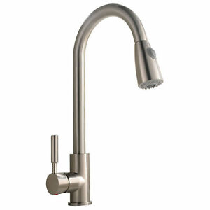 Best Commercial Stainless Steel Single Handle Pull Down Sprayer Kitchen  Faucet