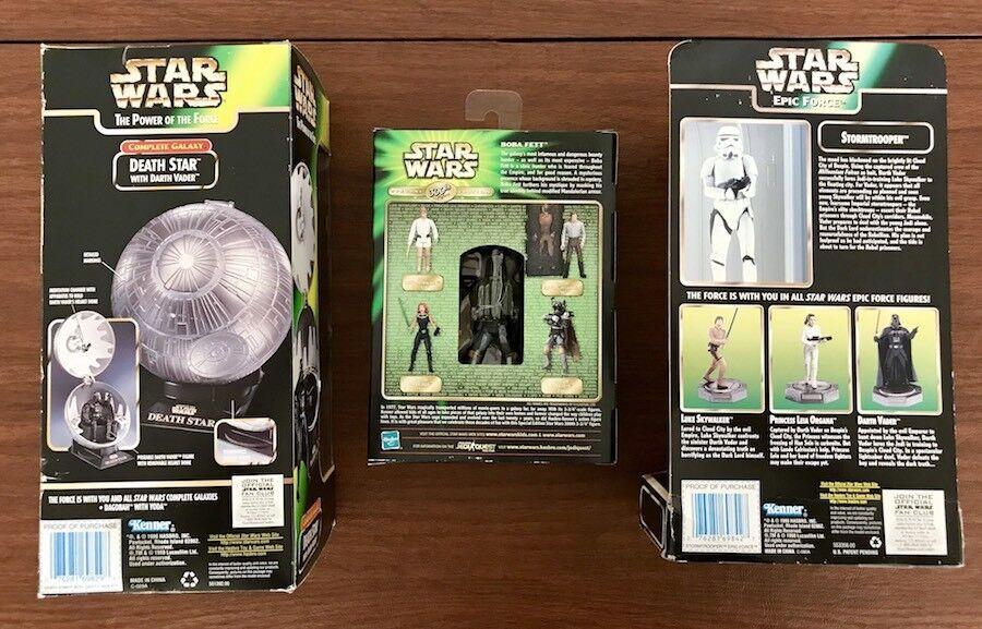 Star Wars Boba Boba Boba Fett 300th Death Star Darth Vader Stormtrooper Action Figure Toy 5a2dc3