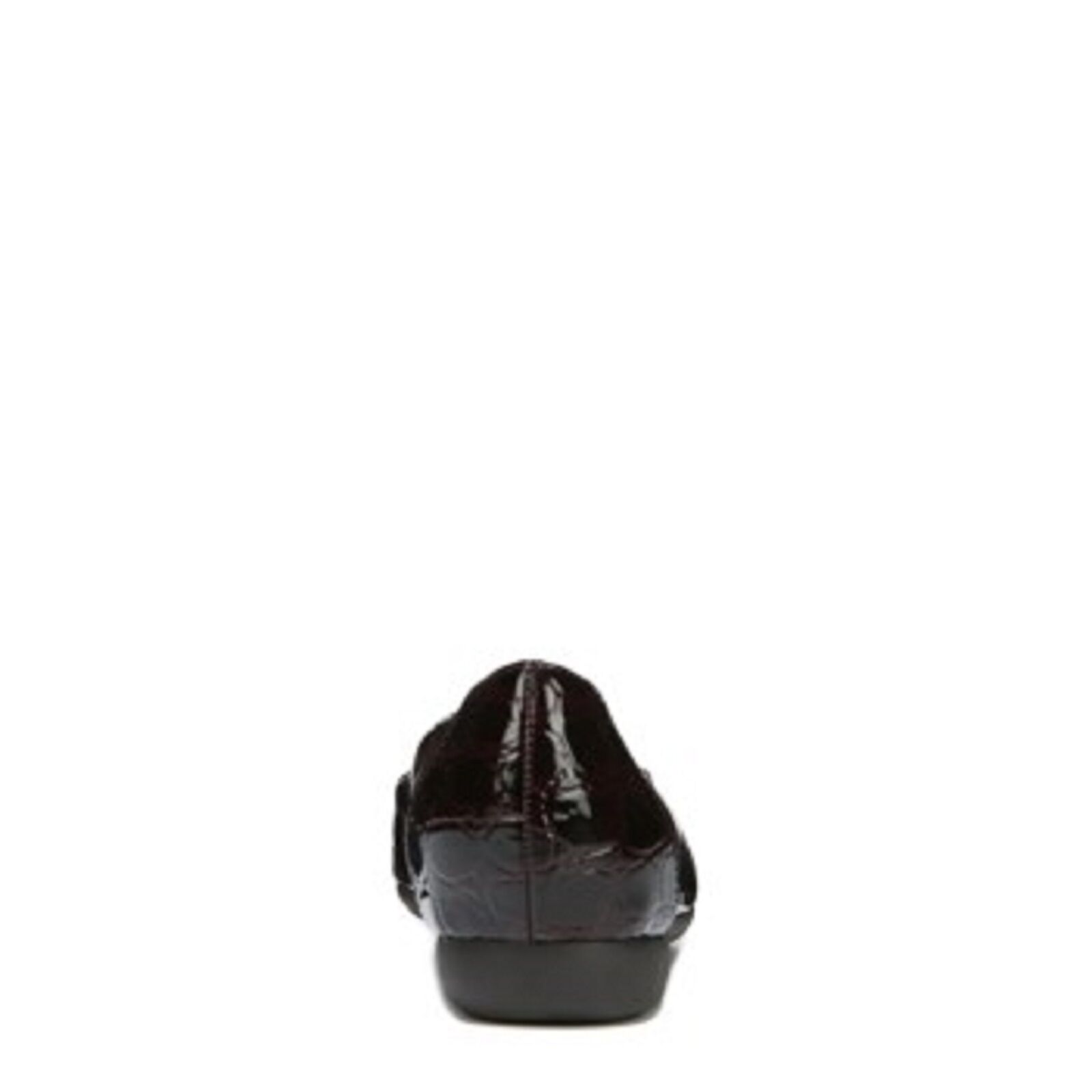 NATURALIZER CALE CALE CALE Ladies Brown Square Toe Croc Print Texture Loafer Sz. 10 M NIB 06a8db