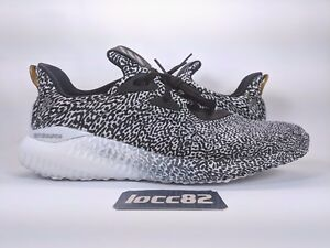 7f38729d0f982 Adidas Men s AlphaBounce M Aramis Turtle Dove Black White Boost sz ...