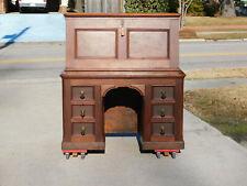 Victorian Walnut Drop Front Desk