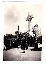 VERA FOTO MILITARI FASCISTI IN CIMITERO A TORINO 1923 8-175