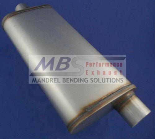"muffler  FULL BOAR Max Flow SS 3/"" IN//OUT MF2589"