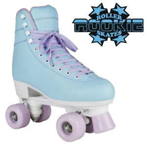Rookie-039-Bubblegum-039-V2-Girls-Rollerskates-Kids-Adults-Pastel-Blue-Roller-Skates