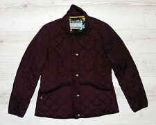 JOULES MOREDALE QUILTED JACKET SIZE XL BURGUNDY