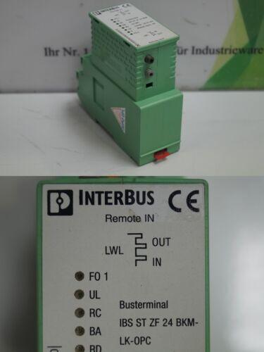 Phoenix contact Interbus ibs St ZF 24 BKM-LK-OPC//2861001