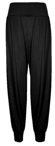 Ladies Womens Full Length Ali Baba Harem Long Pants  Baggy Leggings Trousers
