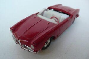 Solido Série 100 Alfa-romeo Giulietta Spider Ref 106 1959 Bon État