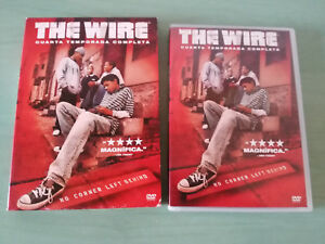 Details zu THE WIRE CUARTA TEMPORADA 4 COMPLETA - 5 X DVD ESPAÑOL ENGLISH