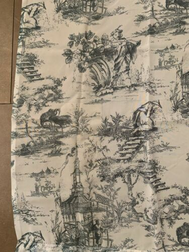 2 58 X 64 Green Sheer//See-Through Curtains~French Country Toile Shabby Chic
