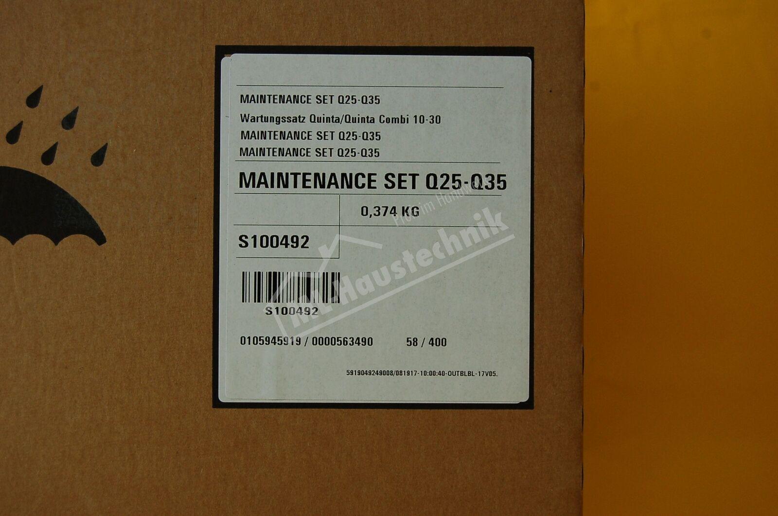 S100492 Remeha Wartungssatz Quinta 10-30 10-30 10-30 e89e5d