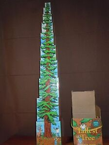 Tallest Tree Stacking Building Blocks National Parks Conservancy Preschool EUC
