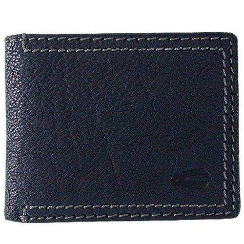 New Camel Active Men/'s Genuine Leather Wallet Coin Purse Card Holder Black