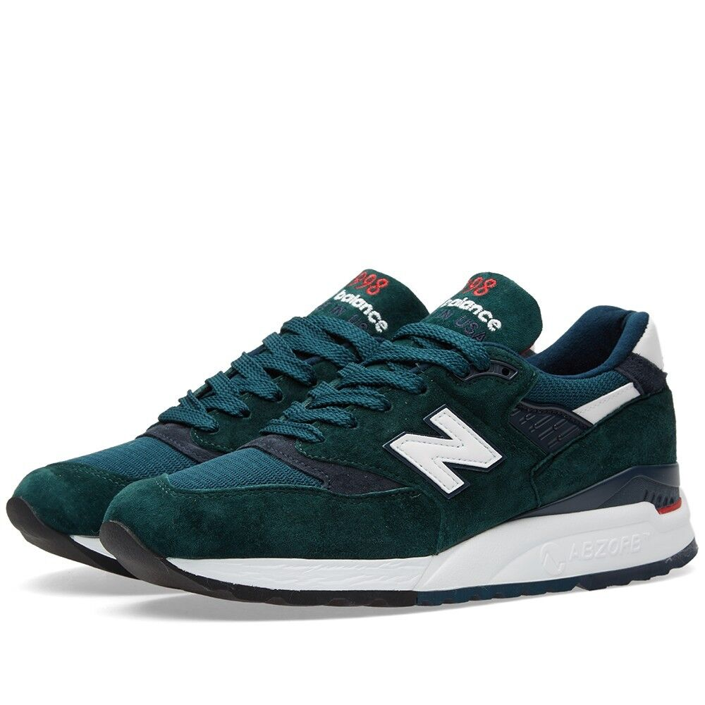 New Balance 998 green Made In The USA Exploration 997 996 990 M998CHI Size 9.5