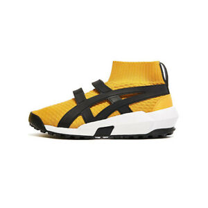 Onitsuka-Tiger-Knit-Trainer-Sneaker-Uomo-1183A418-750-Yellow-Black