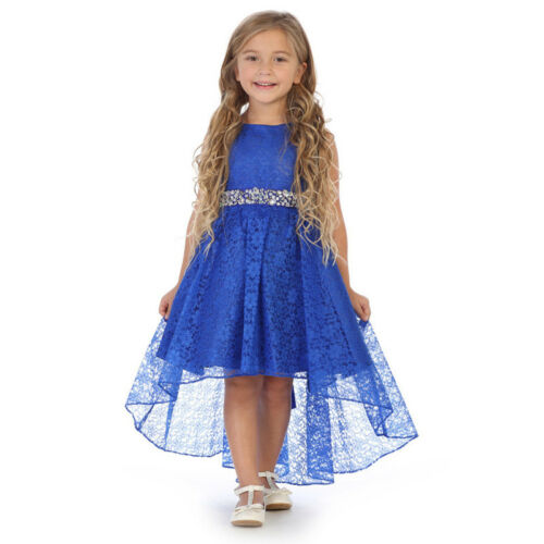LILAC Flower Girl Dress Birthday Pageant Party Formal Wedding Bridesmaid Dance