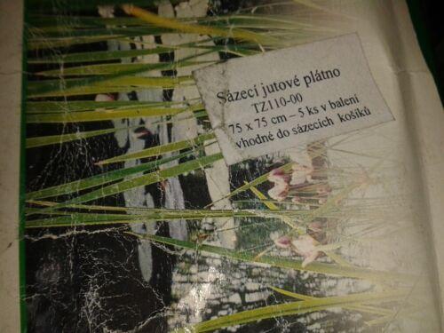 5 x Heissner Pflanztuch für Pflanzkorb Teichbau 75x80 cm Pflanztasche Tuch Teich