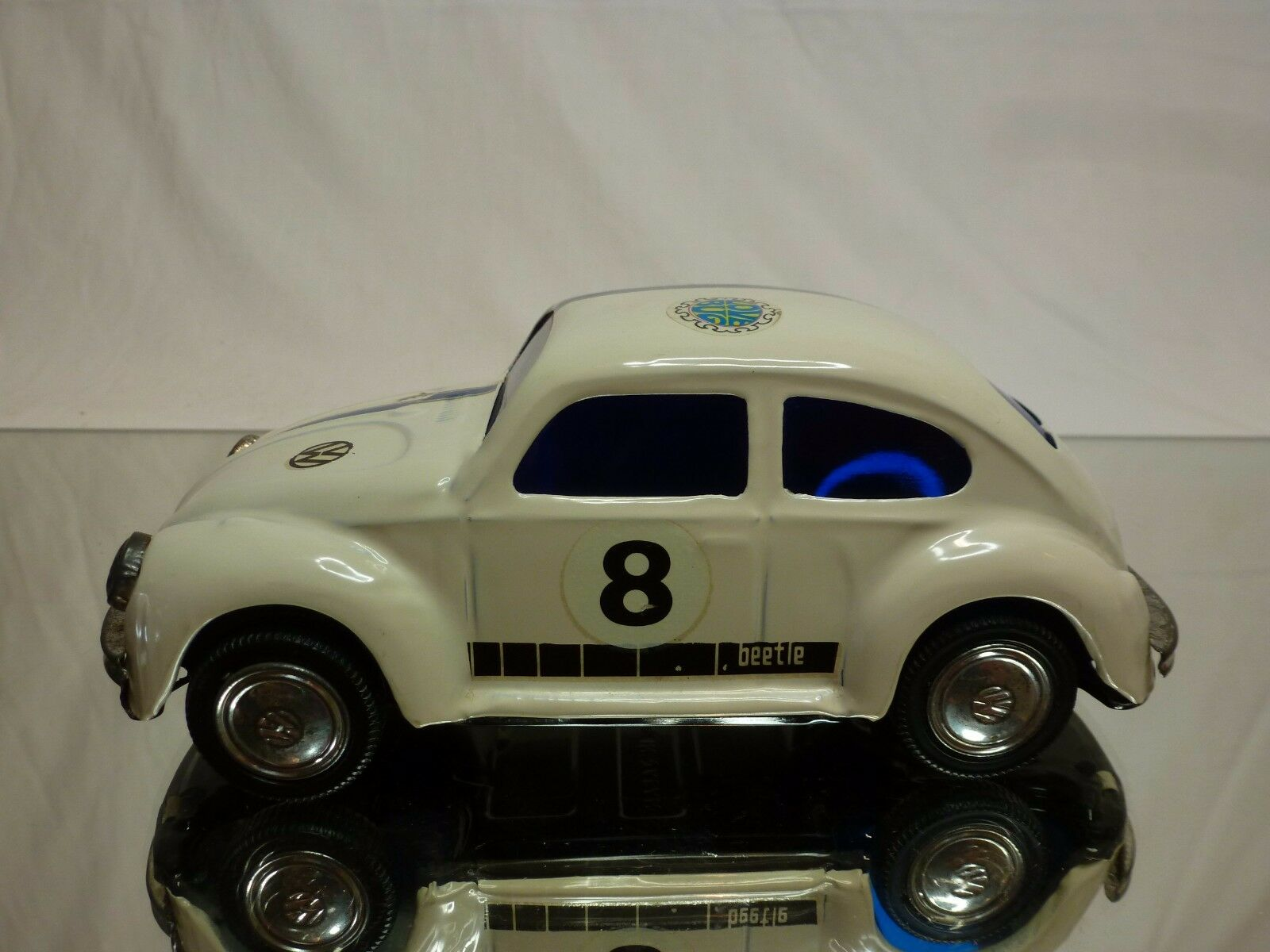 TT TT TT JAPAN TIN TOYS BLECH VW VOLKSWAGEN BEETLE - LOVE BUG L17.0cm- GOOD - FRICTION 2fa445
