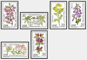 CF6282-RDA-1981-Serie-Flores-y-arbustos-raros-del-arboreum-de-Berlin-MNH