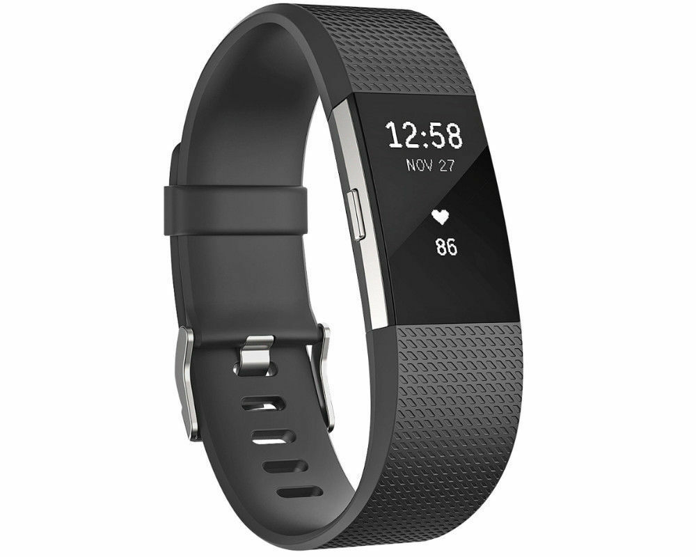 Fitbit Charge 2 schwarz Gr. S