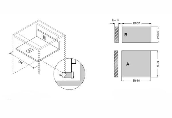 Schubkasten Küchenschublade Küchenschublade Küchenschublade Systembox Küchenschubkasten 40Kg TB10 Weiß   Erste Gruppe von Kunden    Nicht so teuer  c94f5f