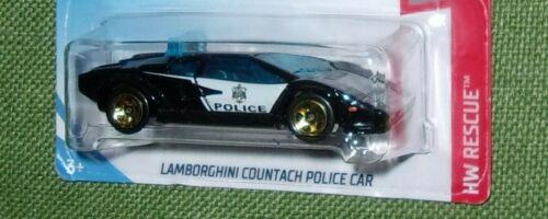 "2019 Hot Wheels Lamborghini Police Countach Reventon Huracan /""U PICK/"""