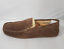 Mens Ruby /& Ed Slippers Shoe Brown Slipper Shoe Soft Comfy Suede Low Top Slip On