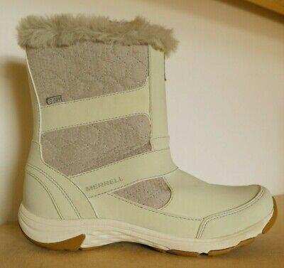 hyvä ulos x myymälä juoksukengät MERRELL WOMENS LADIES ALBURY TALL WATERPROOF WINTER BOOTS UK 4.5 US 7 | eBay