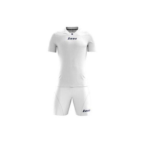3df89c9e6 Kit Calcio Zeus Mod. Promo calcetto Futsal Volley Muta divisa Torneo  Campionato Bianco L | Acquisti Online su eBay