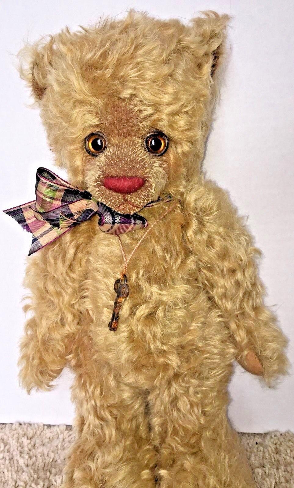 RARE Stunningly cute artist bear OOAK   Monroe  By Potbelly Bears 14   550