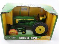ERTL John Deere Model 520 Tractor DieCast 1 16 & 64 Set MIB Toys