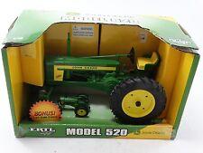 Ertl 1956-1958 John Deere Model 520 Farm Tractor 1:16 & 1:64 Scale Diecast Toy
