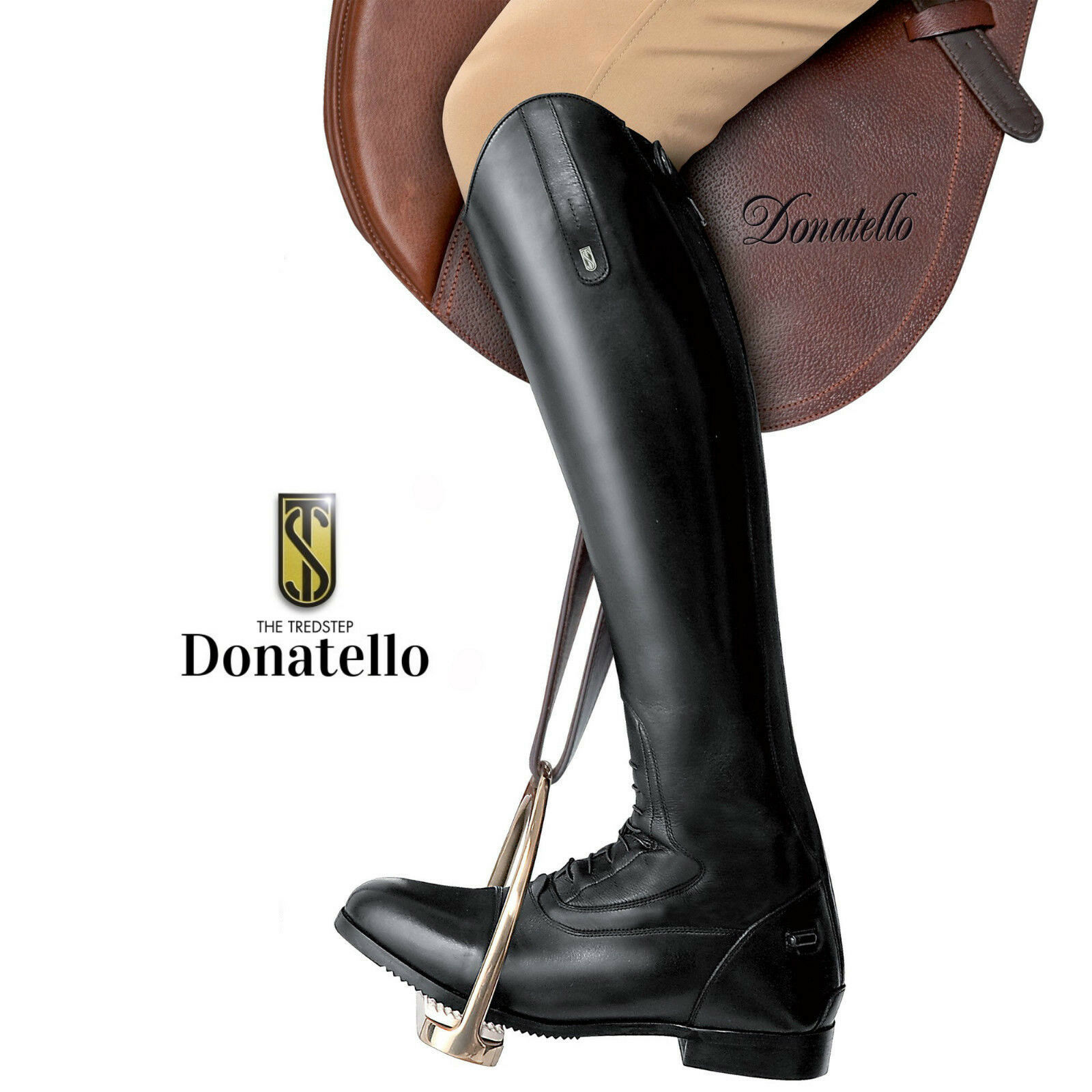 Trossostep DONATELLO Field avvio Taglia 6.5 EU40 Al Polpaccio Altezza Media Regolare Prezzo Consigliato '